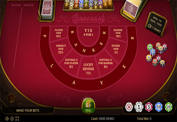 Play free baccarat 777 gerasimova poker